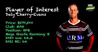 Player of Interest – Daly-Cherry Evans