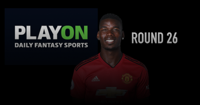 PlayON EPL DFS Preview – Round 26