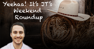 JT's Weekend Roundup – Round 9