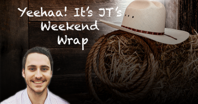 JT's Weekend Roundup – Round 19