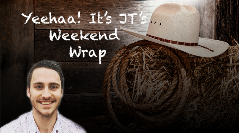 JT's Weekend Roundup – R12
