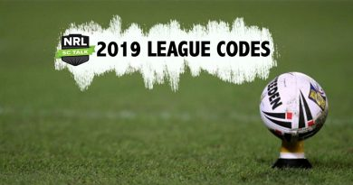 NRL SCTalk Leagues & Group Code