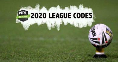 2020 NRL SuperCoach Talk League Codes