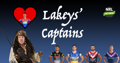 Lakey's Captains – Magic Round