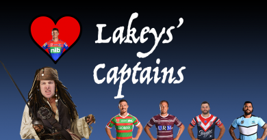 Lakey's Captains – R25