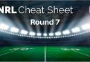 Punter Problems Round 8 'Cheat Sheet'