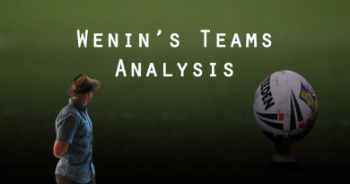 Wenin's Teams Analysis – Round 10